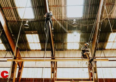 Industry Training Centre Plettenberg Bay IRATA Rope Access Fall Arrest Confined Space 11