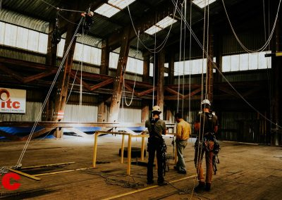 Industry Training Centre Plettenberg Bay IRATA Rope Access Fall Arrest Confined Space 12