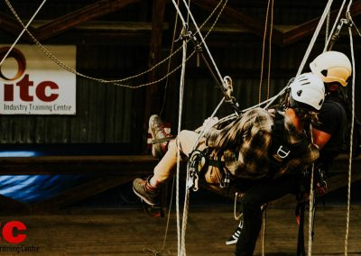Industry Training Centre Plettenberg Bay IRATA Rope Access Fall Arrest Confined Space 6