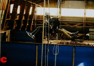 Industry Training Centre Plettenberg Bay IRATA Rope Access Fall Arrest Confined Space 9